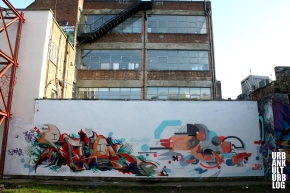 London Street Art 1 – Feat. Stik, Phlegm, Don, Dabs Myla, Tilt, Revok & Opium