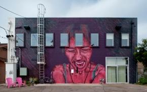 Karl Addison mural, Phoenix(AZ)