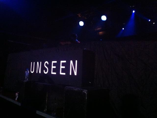 Unseen in full flow