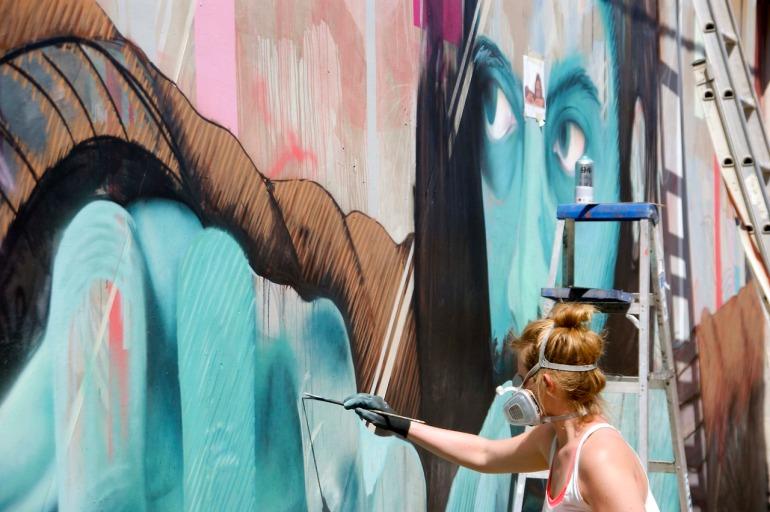 JBAK Street Art Mural 3