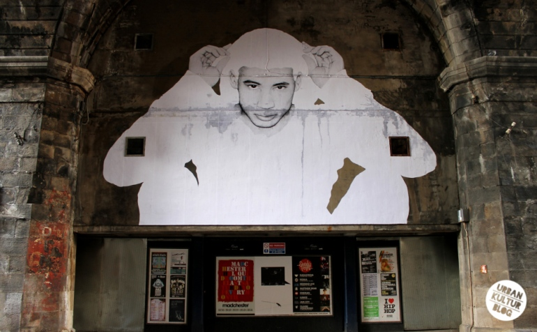 Joe Caslin's work in the Cowgate, Edinburgh