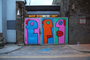 From the East Side to the East End // Thierry Noir