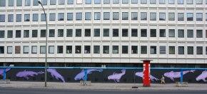Karl Addison's 14 Tails mural,Berlin