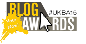 UK Blog Awards logo