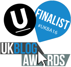 Finalist UK Blog Awards 2016