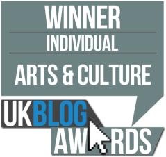 Winner UK Blog Awards 2016