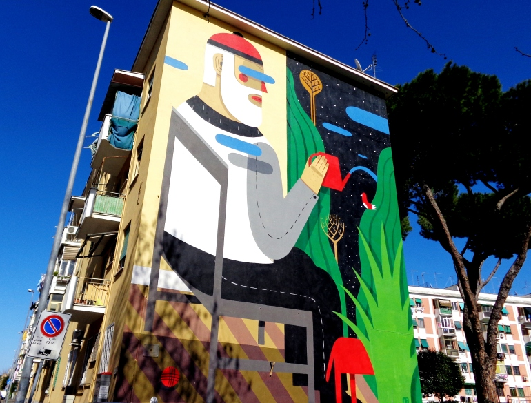 the-blind-wall-agostino-iacurci-san-basilio-roma-street-art